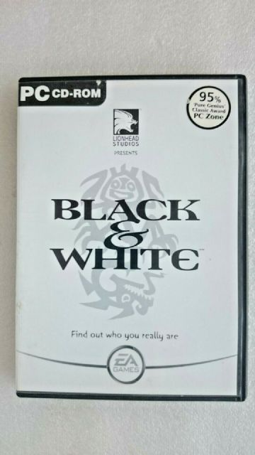 Black and White PC Game Original Release
